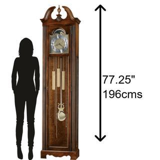 See Details - Howard Miller Princeton Grandfather Clock 611138