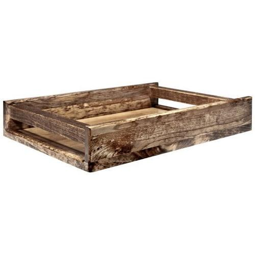 Montana Woodworks - Homestead Collection Serving Tray, Stain and Lacquer Finish