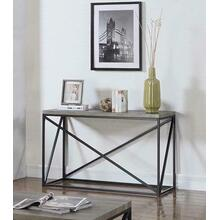See Details - Industrial Sonoma Grey Sofa Table