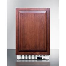 """See Details - 20"""" Wide Built-in All-freezer, ADA Compliant"""