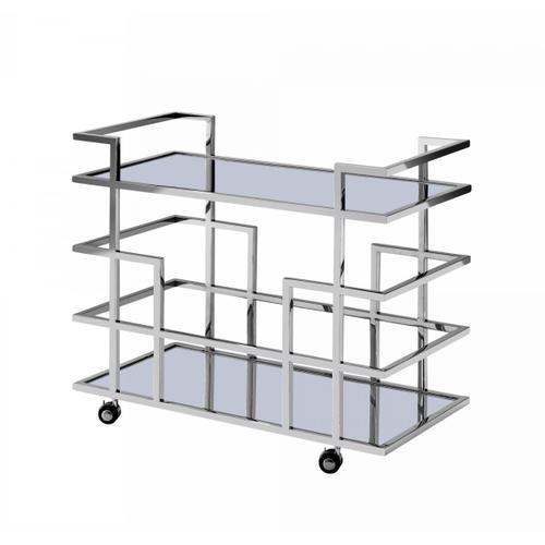 VIG Furniture - Modrest Caleb - Stainless Steel Wine Rack