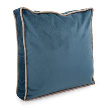"""Product Image - 20"""" Gusseted Pillow Bella Teal - Down Insert"""