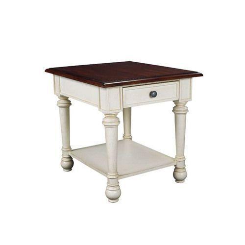 Promenade Rectangular Drawer End Table