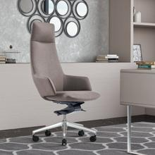 See Details - Modrest Gates - Modern Grey High Back Executive Office Chair