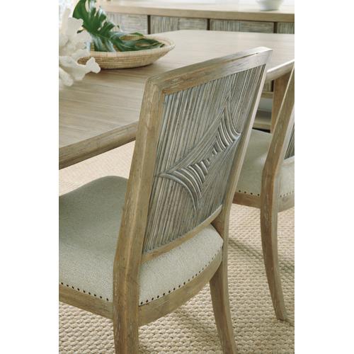 Hooker Furniture - Surfrider Carved Back Side Chair-2 per ctn/price ea