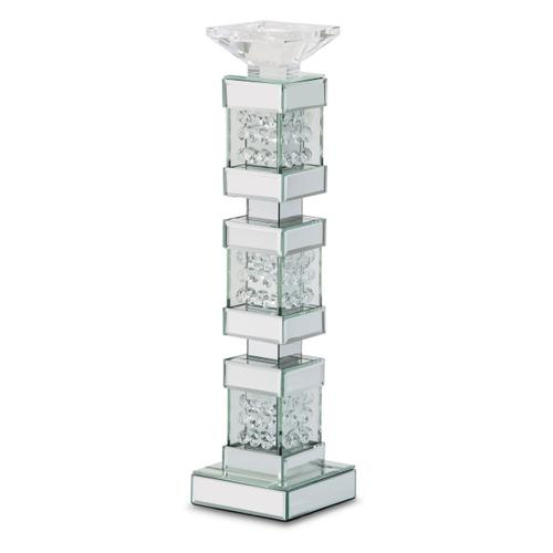 Amini - Mirrored/crystal Candle Holders Tall (2/pack) 151