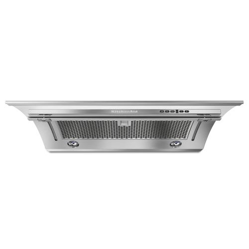 KitchenAid - 30'' Slide-Out 400 CFM Stainless Steel