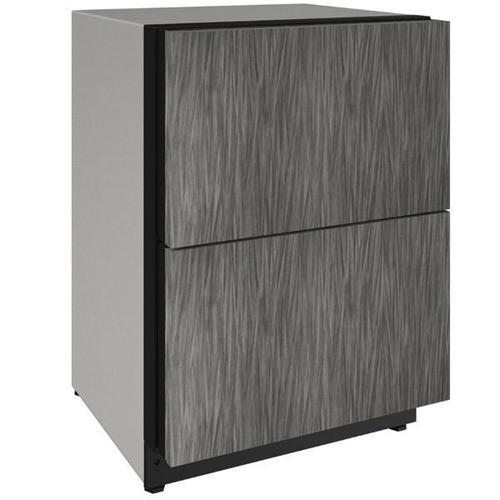 "U-Line - 2224dwr 24"" Refrigerator Drawers With Integrated Solid Finish (115 V/60 Hz Volts /60 Hz Hz)"