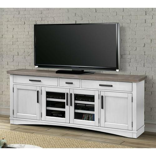 See Details - AMERICANA MODERN - COTTON 76 in. TV Console