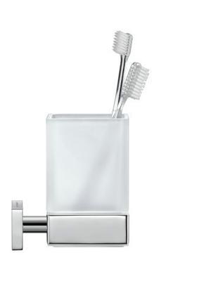 Glass Holder, Chrome Product Image