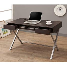 See Details - Contemporary Cappuccino Writing Desk