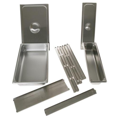 Warming Drawer 2 Pan Set with Lids