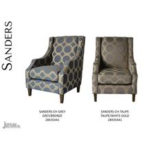 Sanders Accent Chair-grey