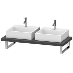 Console For Above-counter Basin And Vanity Basin, Graphite Matte (decor)