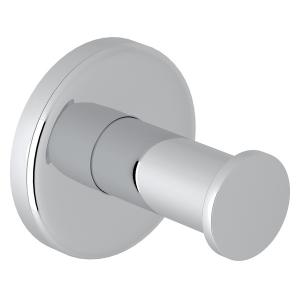 Polished Chrome Lombardia Wall Mount Single Robe Hook Product Image