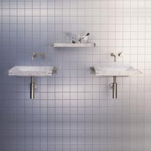 See Details - Sync System Small Shelf / Carrara Marble