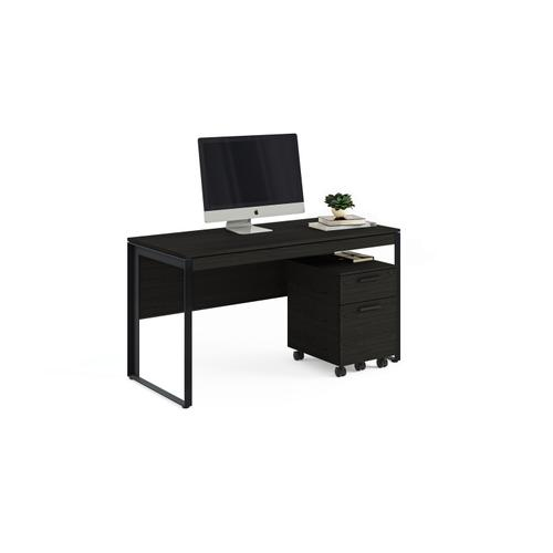 BDI Furniture - Linea 6221 Desk in Charcoal Stained Ash