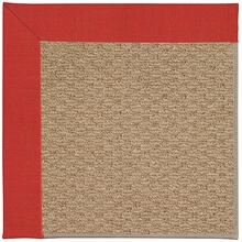 Creative Concepts-Raffia Dupione Crimson Machine Tufted Rugs