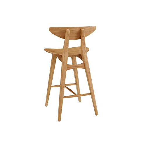 "Cosmos 30"" Bar Height Stool, Caramelized, (Set of 2)"