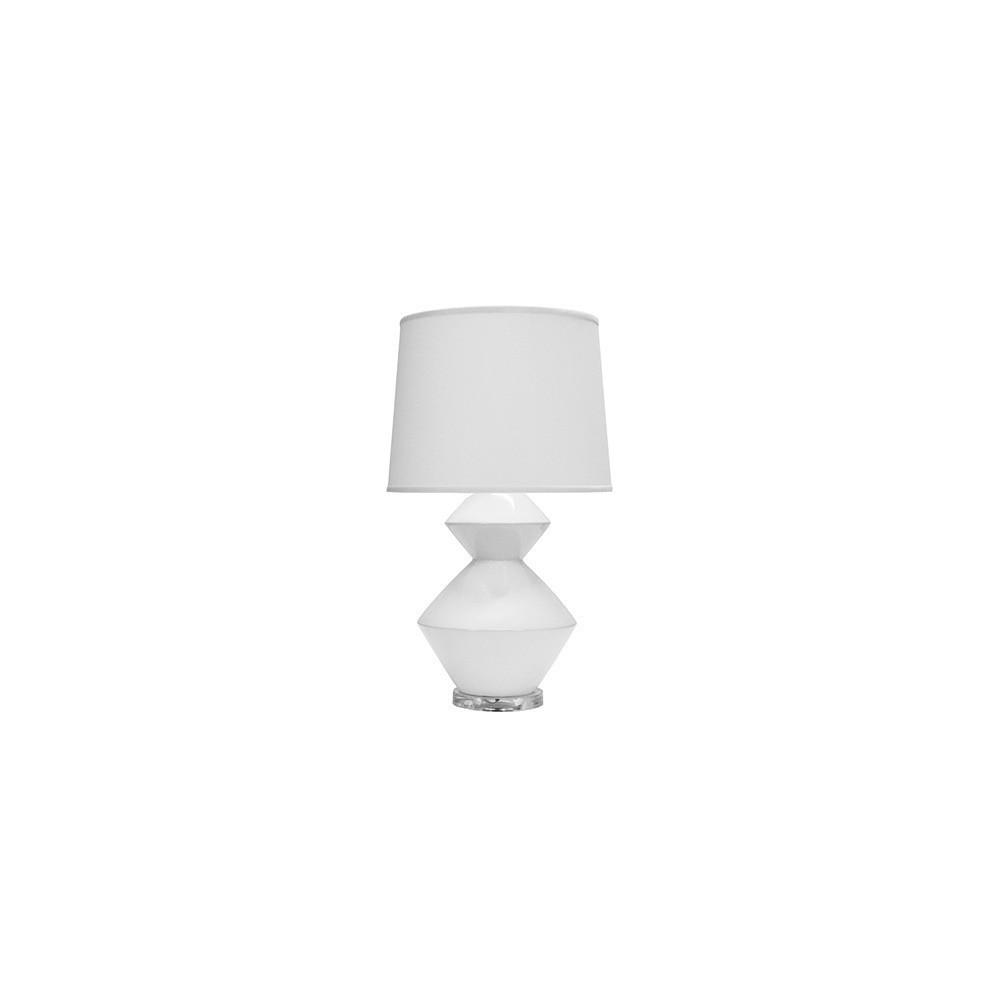 Playful Yet Refined, the Bonnie Table Lamp Is an Elegant and Functional Addition To Any Luxe Interior. Easy To Style and A Go-to Fixture for Many Designers, the Porcelain White Ceramic Finish Appears To Float Between an Acrylic Base and A Crisp White Linen Shade.