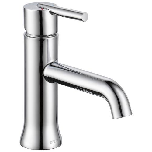 Chrome Single Handle Tract-Pack Bathroom Faucet