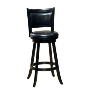 Dennery Swivel Counter Height Stool - Cherry/black
