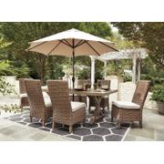 Beachcroft - Beige 4 Piece Patio Set Product Image