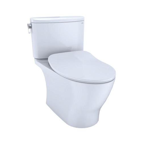 Nexus® Two-Piece Toilet, 1.28 GPF, Elongated Bowl - Slim Seat - Cotton