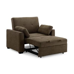 Twin Size Click-Clack Sofa Sleeper (Available in Three Fabric Colors!)