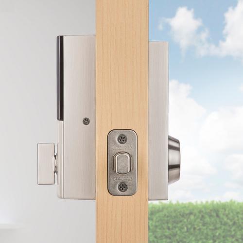 Kwikset - 919 Premis Contemporary Smart Lock - Satin Nickel
