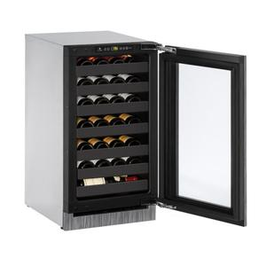 "U-LINE18"" Wine Refrigerator With Integrated Frame Finish (230 V/50 Hz Volts /50 Hz Hz)"