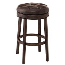 Krauss Backless Swivel Bar Stool - Charcoal Gray