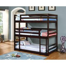 Sandler Cappuccino Three-bed Bunk Bed