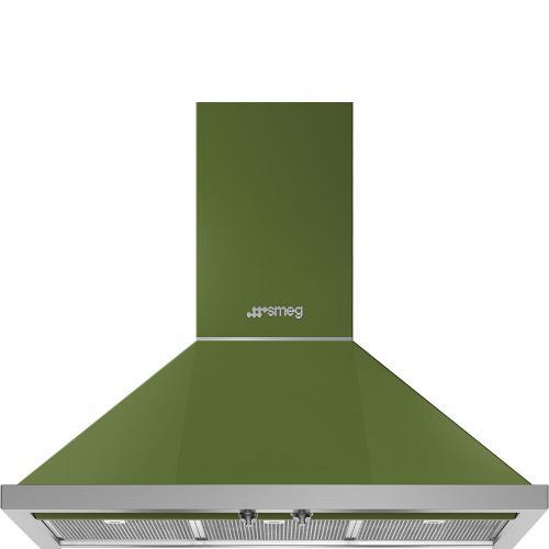 Smeg - Hood Olive green KPF36UOG
