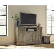 "60"" Console - Weathered Gray Finish"