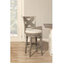 Sunhill Swivel Bar Stool - Weathered Gray