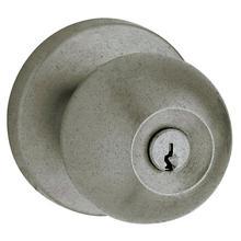 Distressed Antique Nickel 5215 Modern Entry Knob