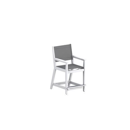Mayhew Sling Counter Arm Chair