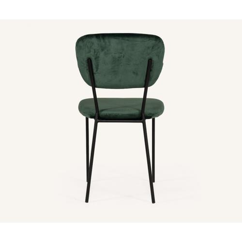VIG Furniture - Modrest Billy Modern Green Velvet Dining Chair (Set of 2)