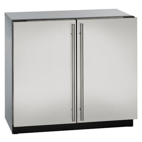 """36"""" Refrigerator With Stainless Solid Finish (115 V/60 Hz Volts /60 Hz Hz)"""