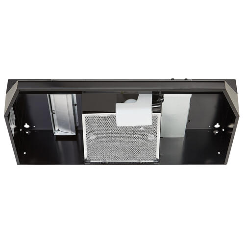 Broan® 24-Inch Convertible Under-Cabinet Range Hood, 220 CFM, Black