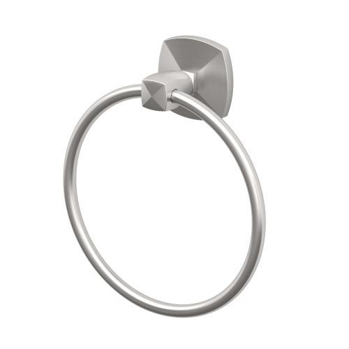 Jewel Towel Ring in Satin Nickel