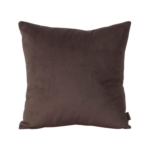"""Pillow Cover 16""""x16"""" Bella Chocolate"""