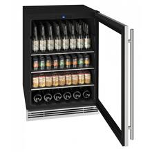 "Hbv024 24"" Beverage Center With Stainless Frame Finish (230v/50 Hz Volts /50 Hz Hz)"