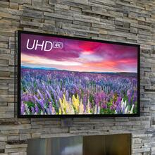 "STORM 84"" Outdoor TV Optimized performance for shaded environments"