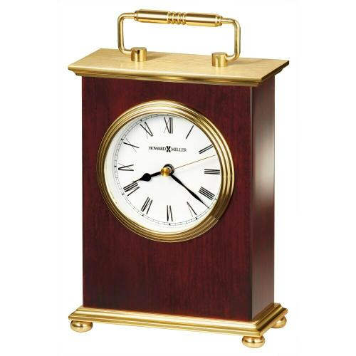 Howard Miller Rosewood Bracket Table Clock 613528