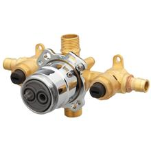 New - Treysta® Tub & Shower Valve- Horizontal Inputs With Stops- Cold Expansion Pex