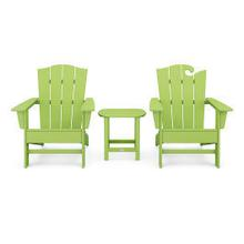 View Product - Wave Collection 3-Piece Set in Lime