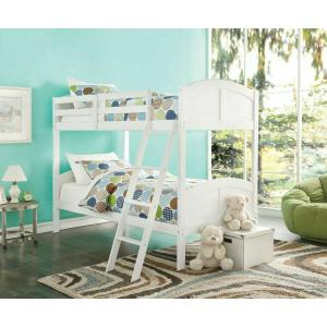 ACME Toshi Twin/Twin Bunk Bed - 37009 - White
