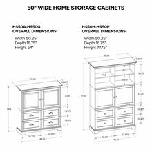 HS50G Custom Home Storage Cabinet